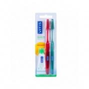 Cepillo de dientes vitis suave (duplo)