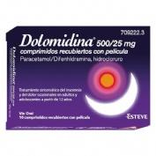 DOLOMIDINA 500/25MG COMPRIMIDOS RECUBIERTOS CON PELICULA , 10 comprimidos