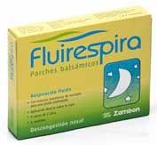 Fluirespira parches balsamicos 6u