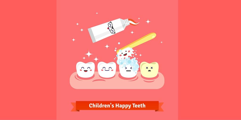 Fluor pasta de dientes niños
